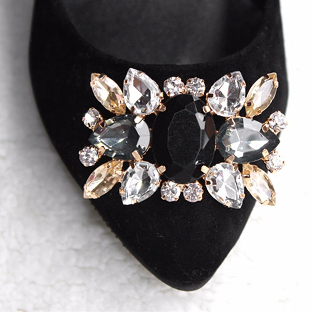 2019 EYKOSI Fashion Rhinestone Shoe Clips Accessory DIY Shoes Decoration  Vintage Style For Wedding Bridal 5.8x4cm From Ajshoesfactory e0296be8549f