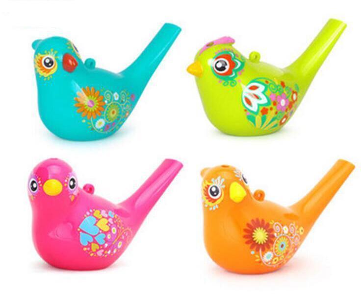 Compre Dibujo A Color Pájaro De Agua Whistle Bathtime Juguete