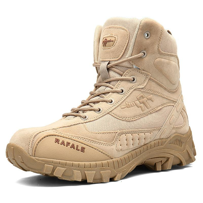 5ca1f6da2388db 2019 Men Winter Military Boots Fashion Army Boots Men' s Tactical Desert  Combat High Top Ankle Boots Men Outdoor Work Shoes Men