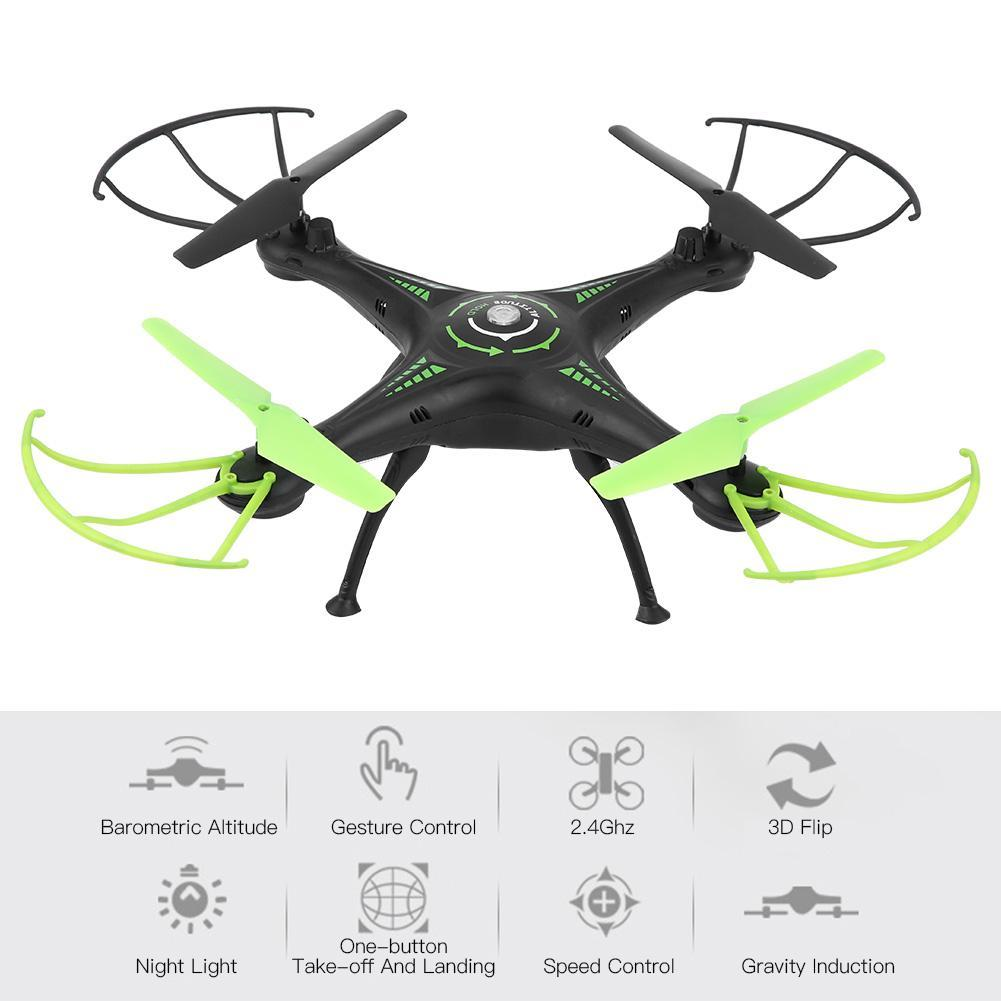 Brand new 2.4G Remote Control Gravity Induction Aircraft Four-Axis Aerial Vehicle Resistant to falling drone for kids gi