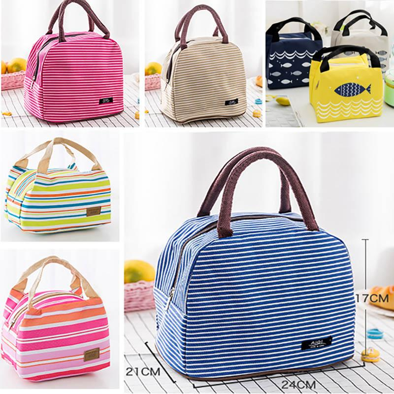 0c573ff8d5 14 Design Lunch Bag Tote Bag Lunch Organizer Handle Insulation Cold ...