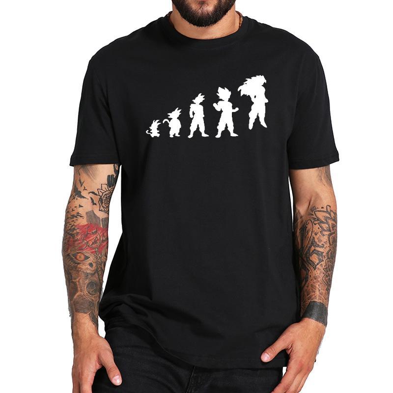 bfa8c892c EU Size 100% Cotton Monkey Human Evolution Famous Anime Graphic ...