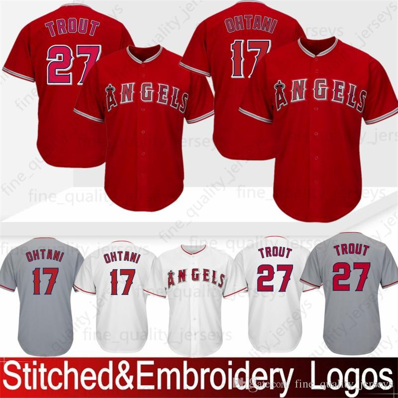 45cd9c0ec 2019 27 Mike Trout 28 Nolan Arenado Los Angeles Ange 17 Shohei Ohtani  Jersey Mens Stitched In Stock Baseball Jerseys From Noblesports, $53.81 |  DHgate.Com
