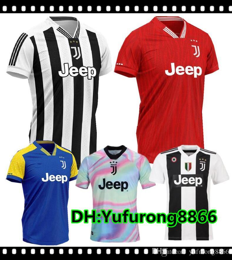 f8f68288 7 RONALDO 19/20 Juventus Home Away Third Men Soccer Jersey New 2019 ...