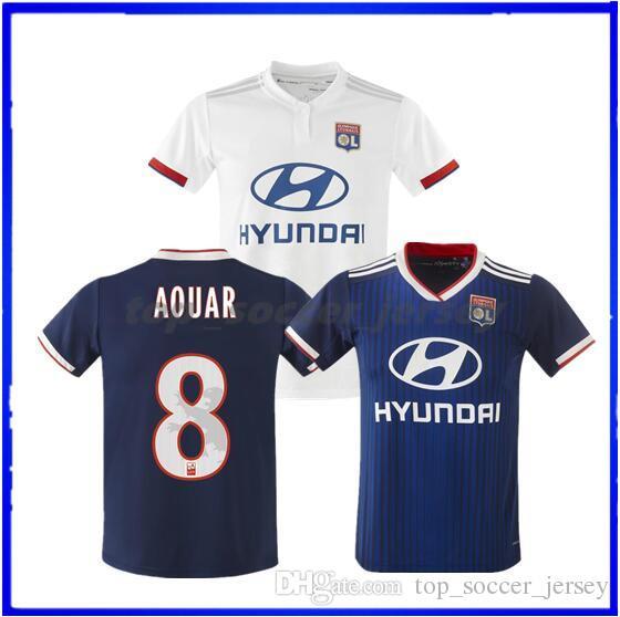 023cfa8bc2d 2019 Maillot De Foot Olympique Lyonnais Soccer Jersey 2019 2020 Lyon  Football Shirt TRAORE MEMPHIS FEKIR OL 18 19 20 Jersey Shirts MAILLOT Foot  From ...