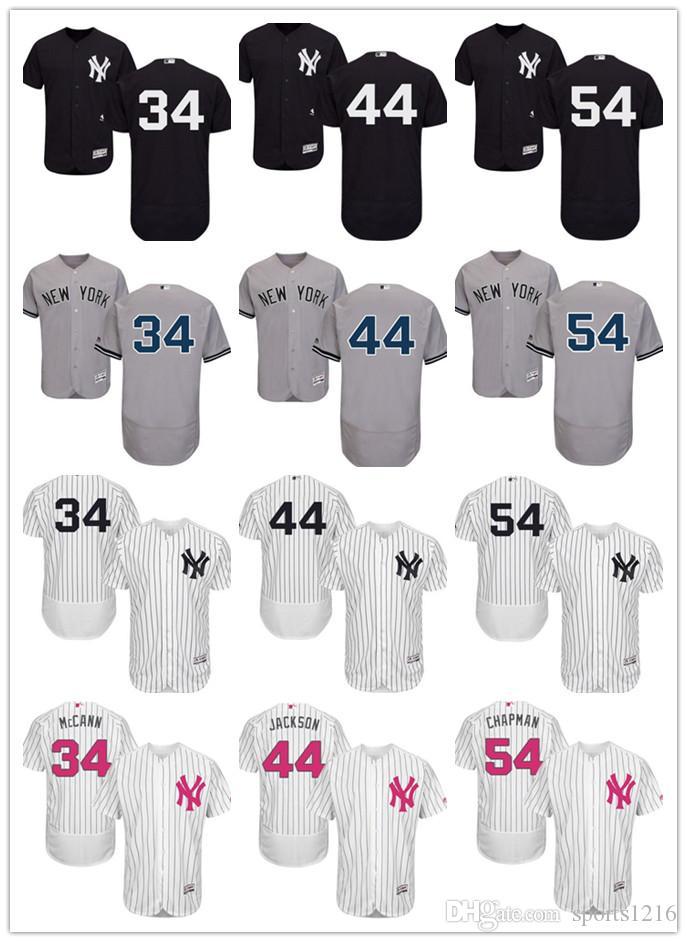 2019 Custom Men S Women Youth New York Yankees Jersey  34 Brian ... 51a028f31ac
