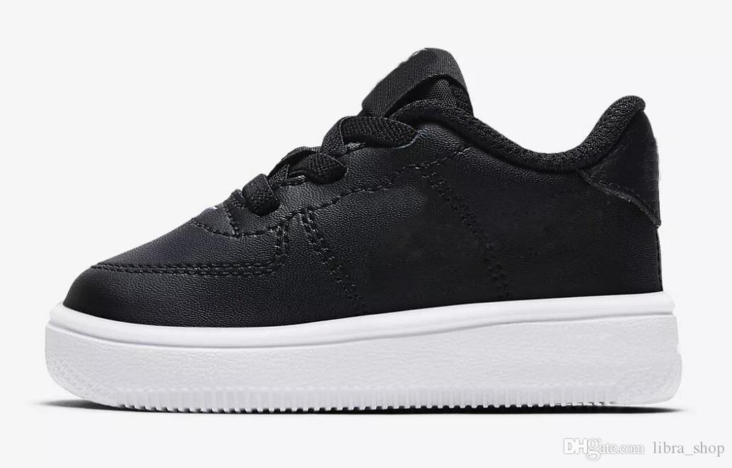 Nike air max force fly Klasik Çocuk 90 Retro Spor Eğitmenler Ayakkabı Ucuz Erkek Kız 90 s Koşu Ayakkabıları Yüksek Kaliteli Shoes Enfant 90 Sneakers Çocuk Boyutu Eu28-35