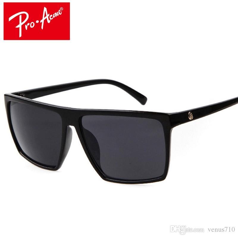 9a73eec525 Pro Acme Square Sunglasses Men Designer Mirror Photochromic ...