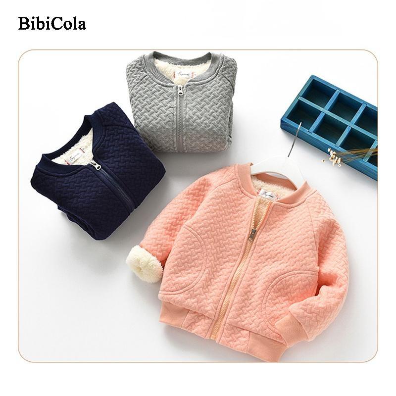 2e524891a5125 Satın Al Kaliteli Çocuk Erkek Kız Sonbahar Kış Mont Ceketler Çocuklar Rahat Kalın  Parkas Bebek Çocuk Hırka Artı Kadife Giyim, $27.36 | DHgate.Com'da