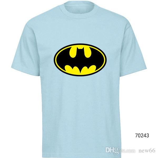 Batman T Shirt Design | Grosshandel Designer T Shirts Der Manner 2019 Batman T Shirt Mode