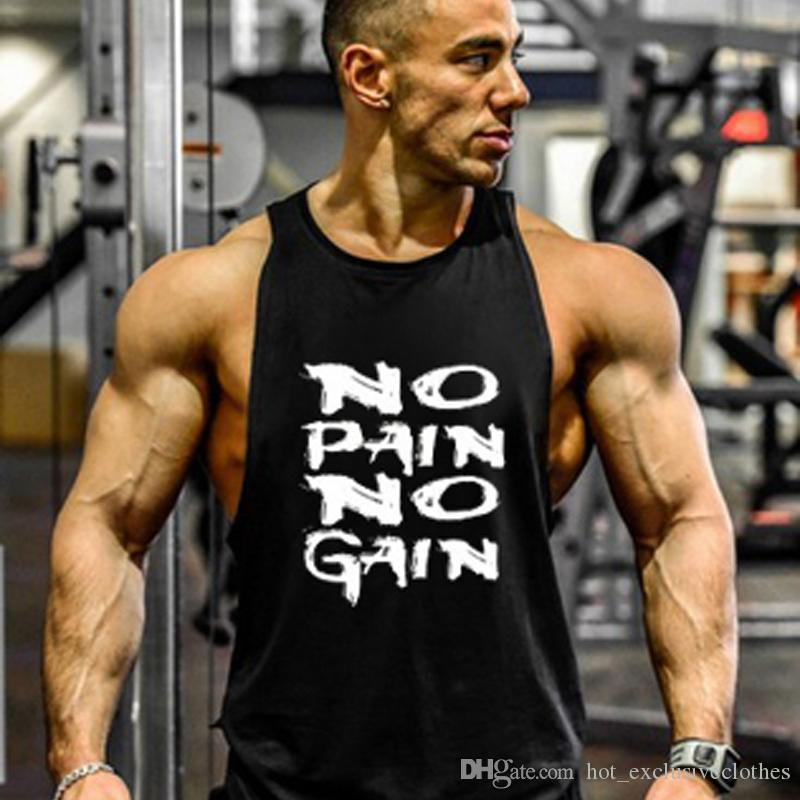2019 gym weste mode Neue Bodybuilding Dragon Ball Tank Tops Männer Anime Tops Naruto weste Fitness Tops Tees saiyan singlet ...