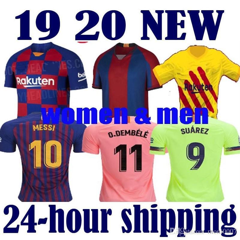 big sale e60b8 d91cb 2019 2020 Barcelona soccer jerseys 10 Messi Barcelona Soccer Jersey