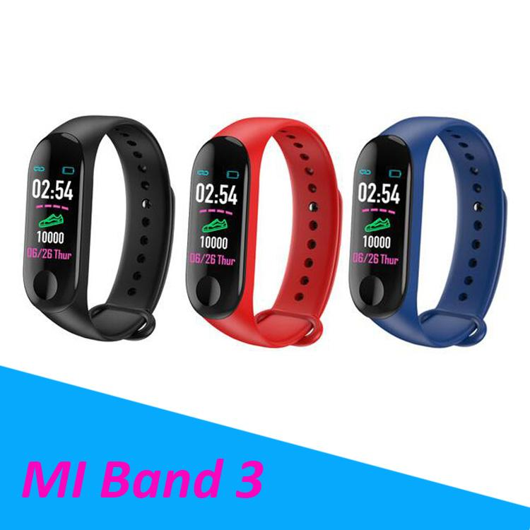 Pulseira Fitbit Xiaomi Banda Cardíaco Fitness Ritmo Inteligente Pk Tracker Reloj M3 De Relogios Actividad Pulsera 4R5jLA