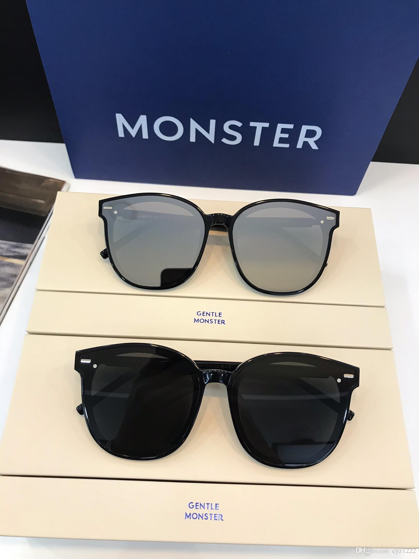 5b9c66e8e0b4 Brand Design 2019 New GM SIX BEARS FLATBA Series Square Plate Frame Stylish  Ladies Thin Face Sunglasses Circle Sunglasses Glass Frames From Cyz1222