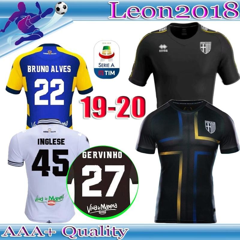 aed27e3ea Camiseta De Fútbol De Calidad Tailandesa 18 19 Parma Tercera Phoenix ...