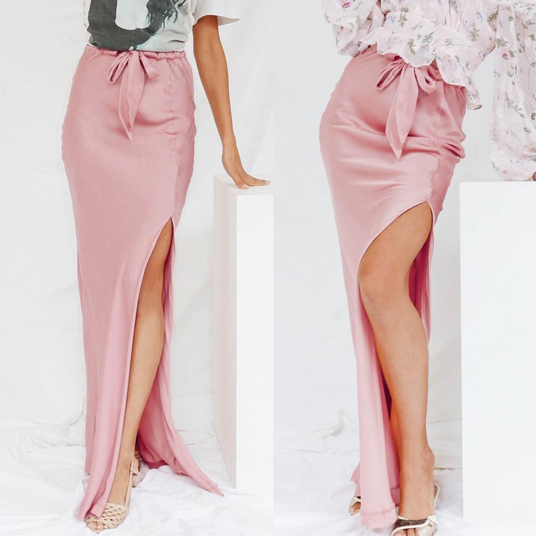 Vintage Rosa Falda lápiz Ropa y complementos vintage tamaño 10 St Michael Con Cinturón Caliente Rosa Falda Recta