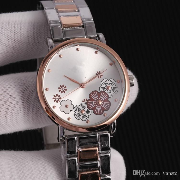c5e6529e5e5 Compre Nova EUA Mulheres Vestido De Luxo CH Assistir New York Todos Os  Relógios De Quartzo