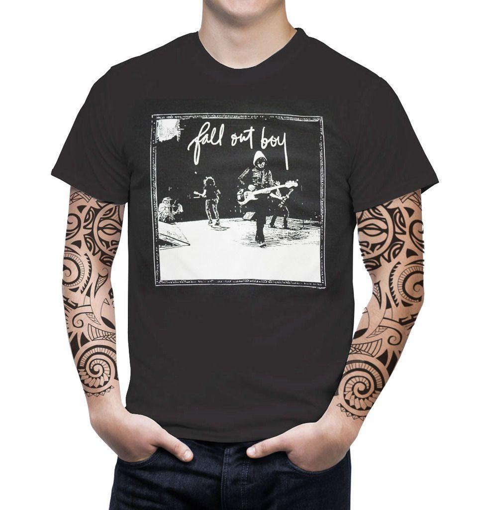 9c71c73e6 Fall Out Boy Retro VTG Graphic T Shirt Indie Alternative Pop Punk Rock Band  Sz M Size Discout Hot New Tshirt Top T Shirt Cool Shirt Design Tshirts  Printed ...