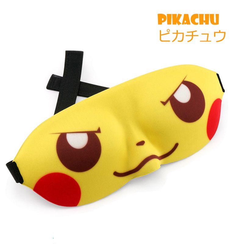 57c44ca85 ccessories Masks Eyewear Cute Eye Mask For Sleeping Naruto Pikachu Anime  Cosplay Funny 3D Eyeshade Cover Rest Sleep Eye Mask Sleeping Lov...