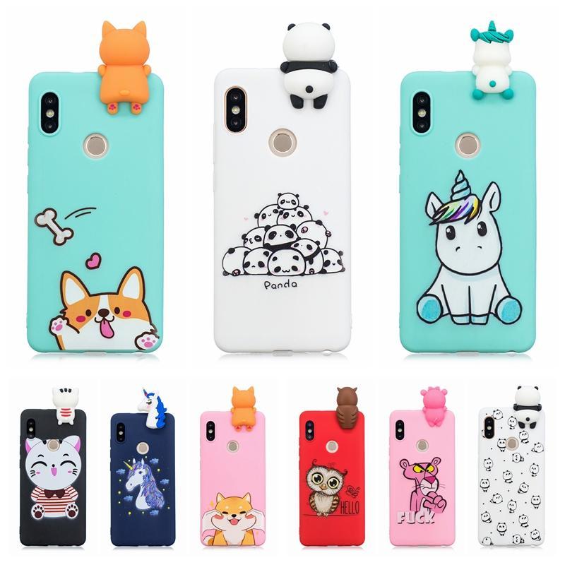 fa0665b59d8 Carcasas Moviles 3D De Dibujos Animados Gato Perro Panda Funda De Silicona  Suave Para Samsung Galaxy S7 Edge S8 S9 Plus S10 Nota 8 A3 A320 A5 A520  2017 J3 ...