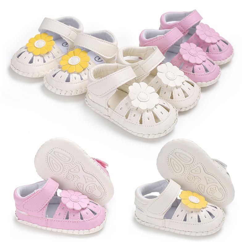 low priced 7a562 8d39c 2019 neue Outdoor Schuhe Baby Mädchen Schuhe Neugeborenen Kleinkind Schuhe  Blume Gummisohle Prewalkers Krippe Schuh