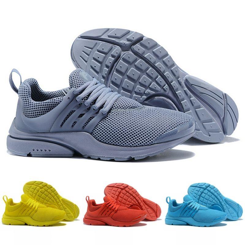 reputable site 3baa6 0ba32 2019 Prestos 5 5s Running Shoes Men Women Presto Ultra BR QS Yellow Black  White Oreo Designer Shoes Sports Sneakers Size 5.5-12