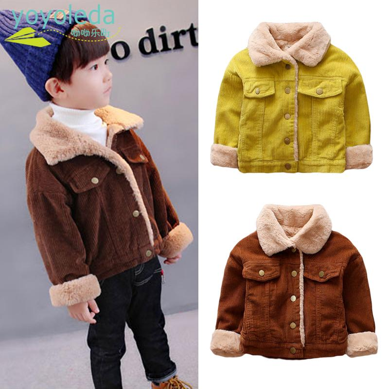 a4e3ae423 Baby Boys Winter Jacket Girls Fashion Warm Coat Cotton Jacket Thick ...