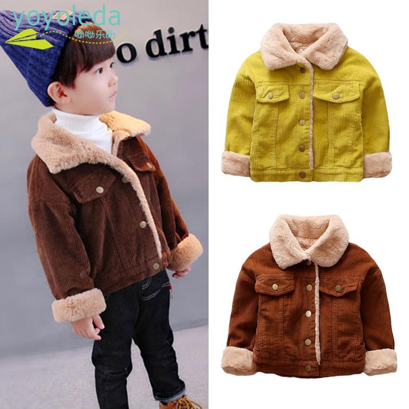 ef36aa67cfe5 Baby Boys Winter Jacket Girls Fashion Warm Coat Cotton Jacket Thick ...