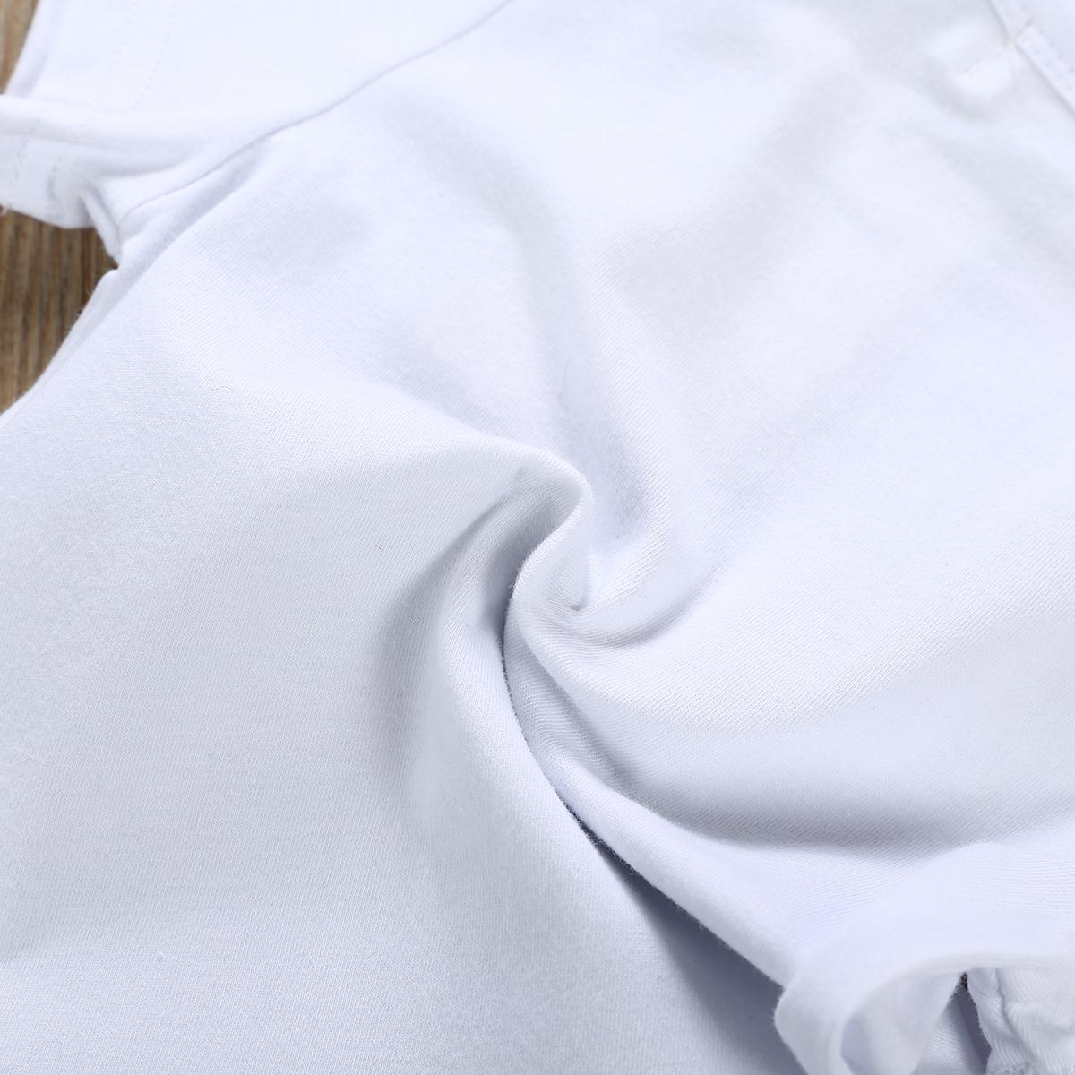 0-24М с коротким рукавом Новорожденный мальчик девочка Bodysuit Комбинезон лето малышей младенческой Детские легкий костюм с шортами письма Хлопок Одежда женский пляжный костюм