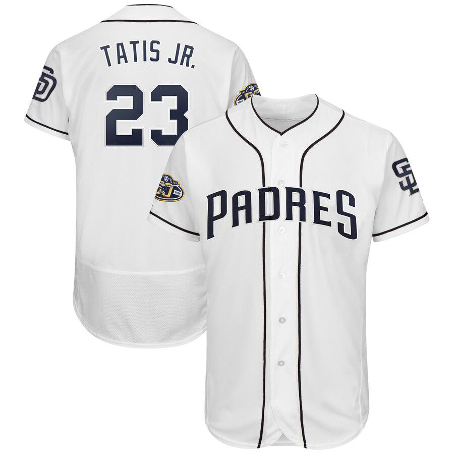 801d8cccdf4 2019 San Diego Mens Manny Machado Jersey Trevor Hoffman Custom Padres  Stitched Fernando Tatis Jr. Baseball Jerseys With 50th Anniversary Patch  From ...