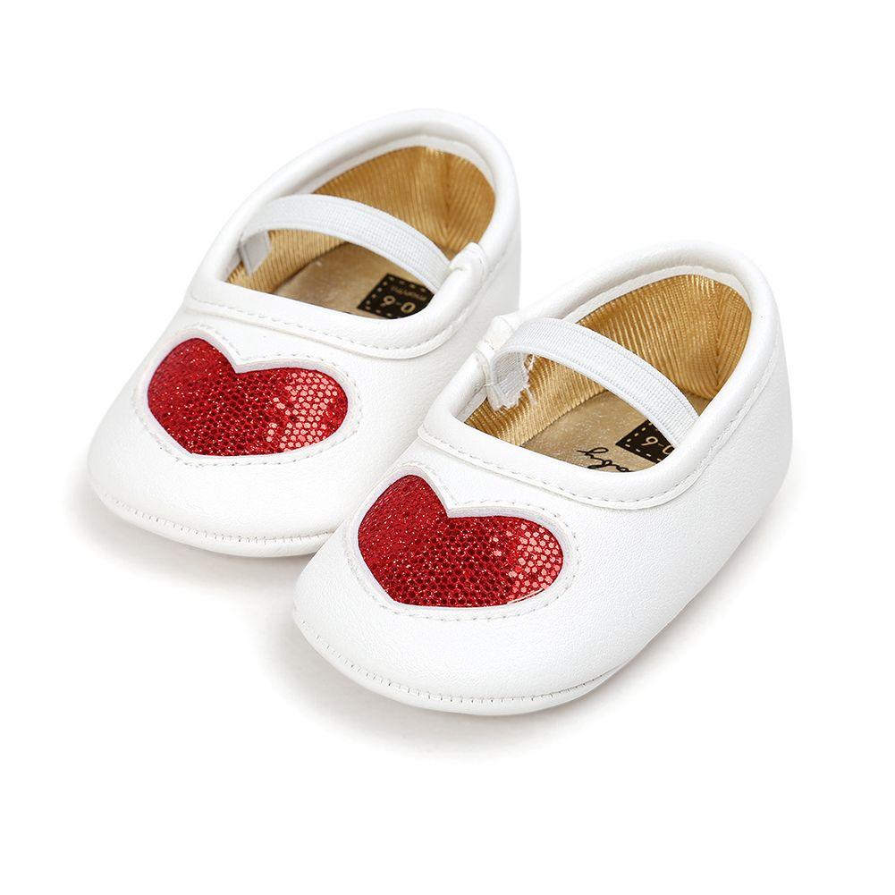cc7be0058e0f 2019 Spring Summer Winter Autumn Baby Anti Skid Shoes Toddler Prewalker  Crib Shoes Love Heart Pattern Girls Infants Princess From Askkit