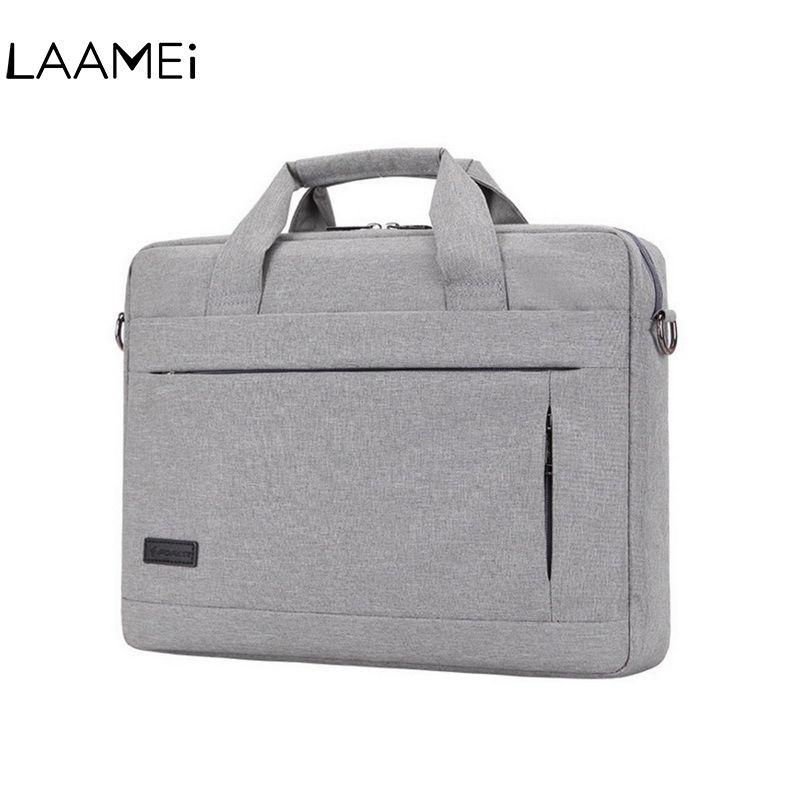 b3b2fcd17075 Laamei 14 15 Inch Laptop Handbag For Men Women Briefcase Travel Bussiness  Notebook Bags Macbook PC Large Capacity Messenger Bags #88048