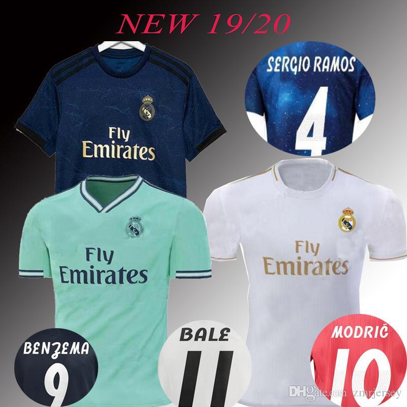 7166a5cc348 2019 Real Madrid 2019 2020 ASENSIO BALE ISCO Home Away Soccer Jersey RAMOS  BENZEMA Shirt 2020 Camiseta Real Madrid 18 19 Football Kit Jerseys From  Zmrjersey ...
