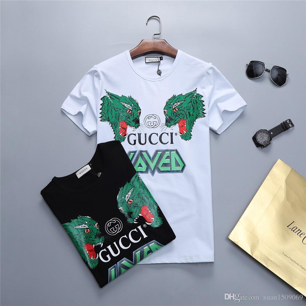 974da0f461 Men's Short-sleeved T Shirt New Summer Style Round-neck Bottom Shirt ...