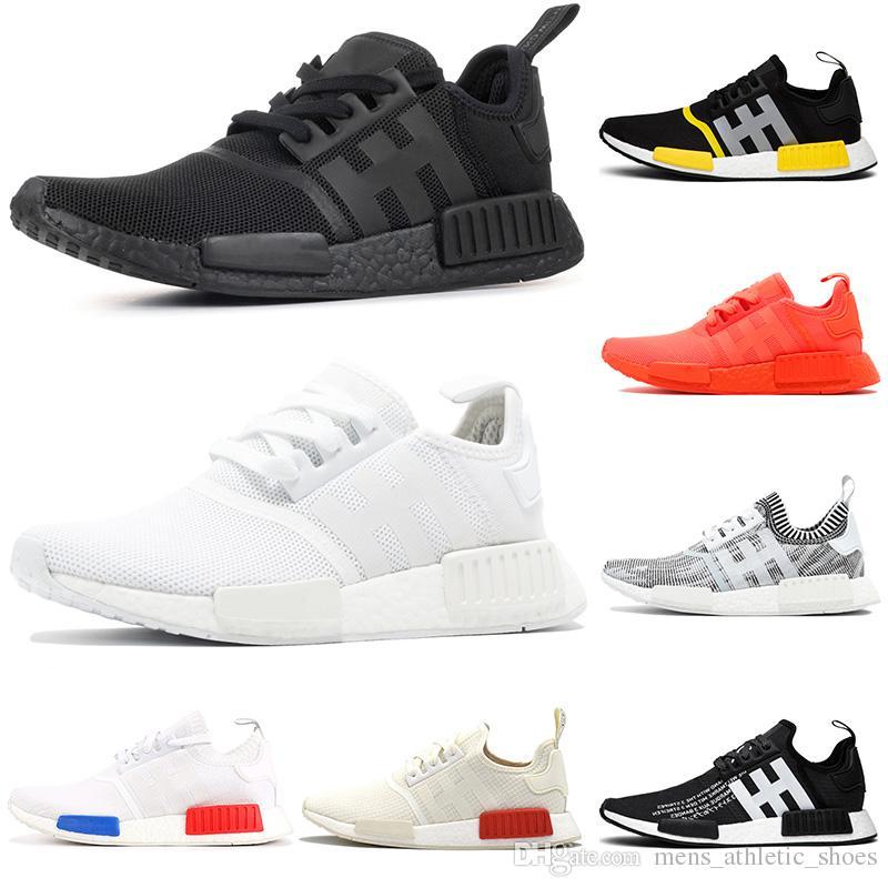 Adidas NMD Runner Nz SchwarzWeiß Herren Hoch Oben Turnschuhe [Adidas Schuhe Neu]