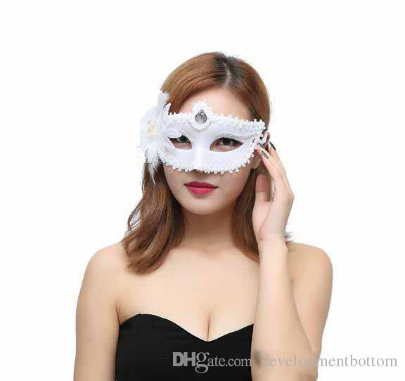 Made-up Ball Princess Mask and Flower Rim Mask Dance Supplies Party props birthday mask