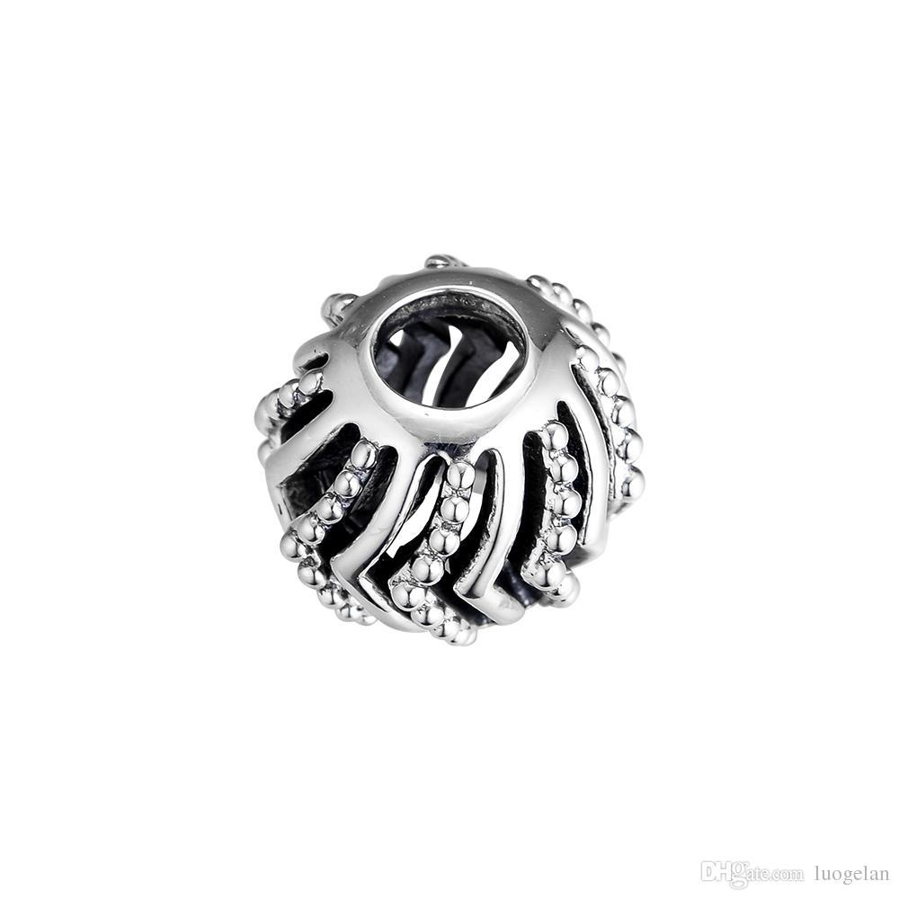 2019 Spring Selling Real 925 Sterling Silver Jewelry Fashion Wish Charm Beads Fits European Bracelets Necklace for Women Making