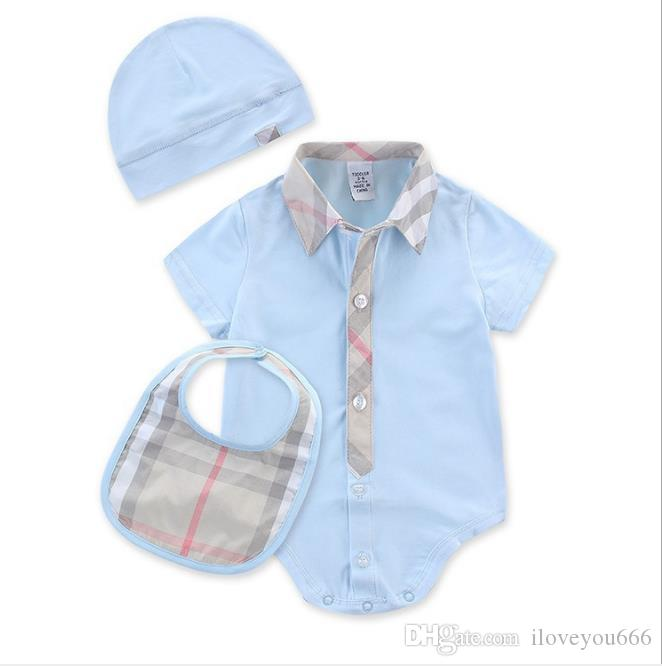 1721ed578 2019 Baby Boys Rompers Short Sleeve Infant Jumpsuits Summer Baby Girls  Clothing Sets Cartoon Newborn Baby Clothes For 3 24 Month From Iloveyou666,  ...
