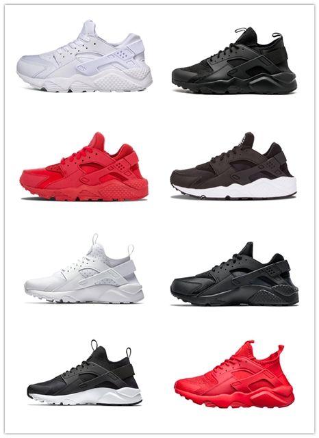 a3711f5d1055 2019 Hot Sale Huarache Triple White Black Men Women Running Shoes ...