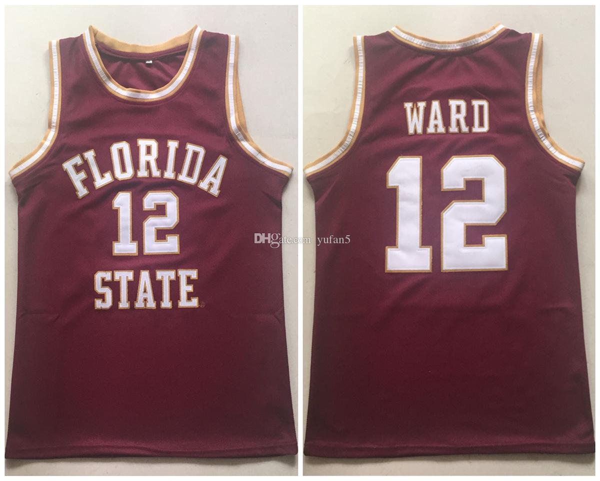 brand new 13183 87f3e #12 Charlie Ward FSU Florida State Seminoles College Maroon Retro  Basketball Jerseys Mens Stitched Custom Any Number Name