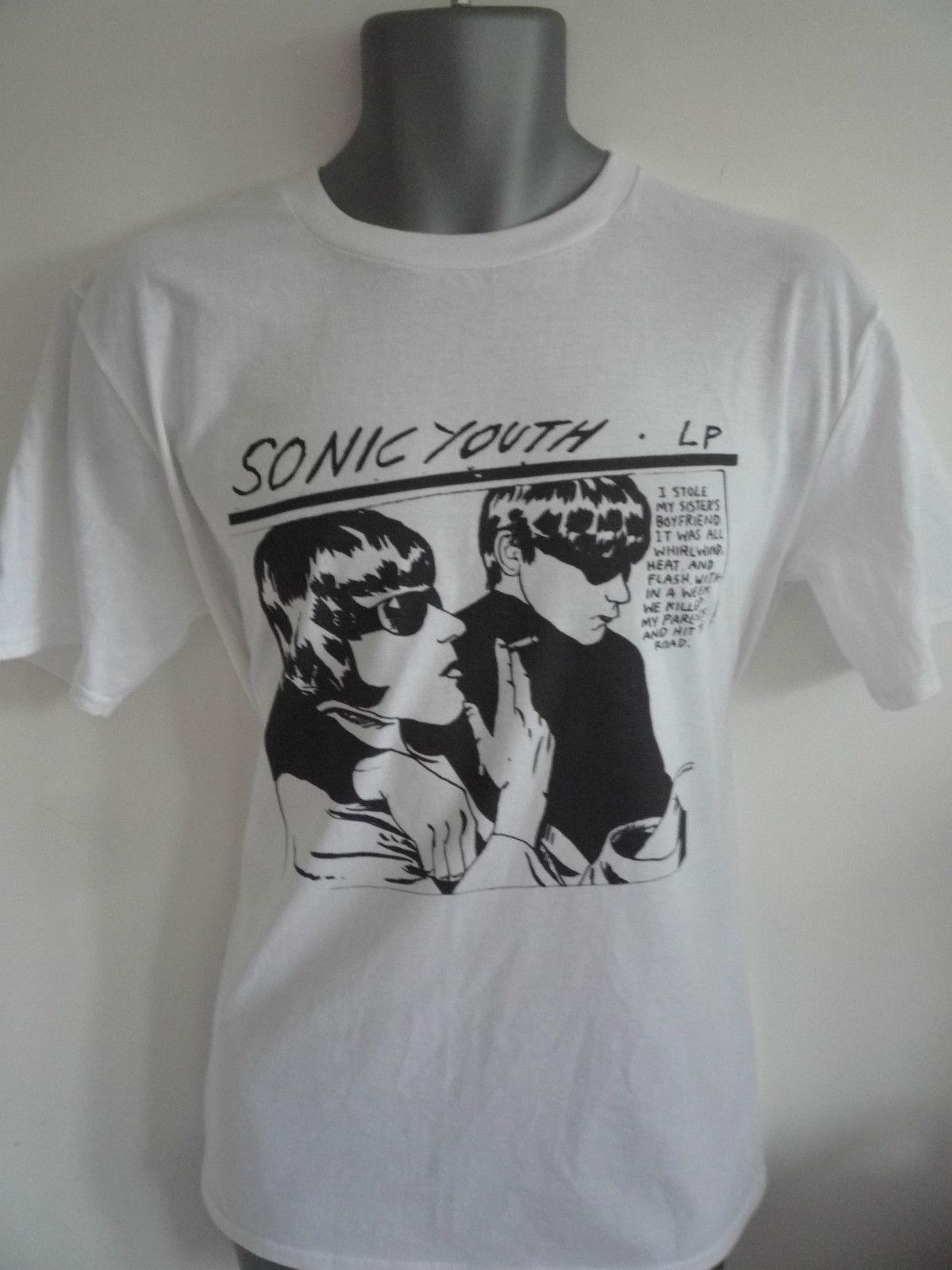 2f1bdd70 SONIC YOUTH GOO T SHIRTfunny 100% Cotton T Shirt Shirts Print Funny T Shirt  Prints From Eightcup, $16.24  DHgate.Com