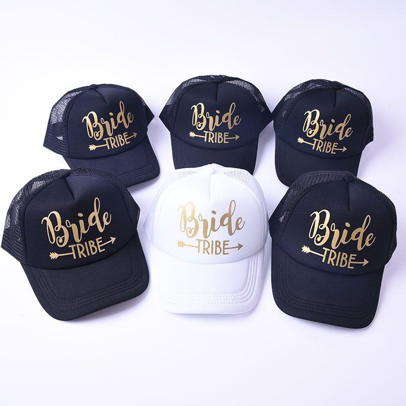 Designer Hats BRIDE TRIBE Sun Hat Casquette Trucker Cap For Women Mens  Summer Snapback 5 Panels Brand Cap Baseball Cap Flat Cap From Zhaoning1004 ca095c83c3e