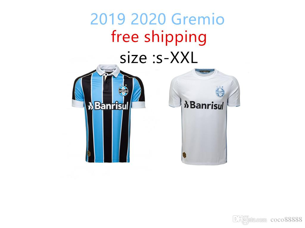 free shipping 2019 Gremio soccer Jersey 2020 home away D. TARDELLI LUAN GEROMEL Kannemann ALISSON 19 20 thai quality Brazil league football