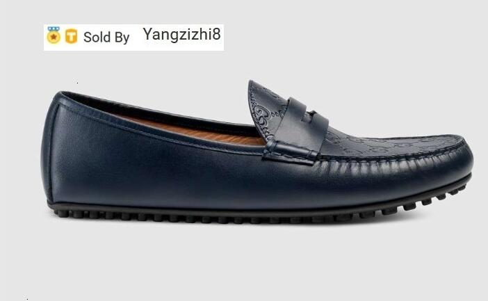 yangzizhi8 Moccasins Men Loafers Lace Ups Signature driver Straps Boots Slippers Drivers Sandals Slides Sneakers Dress Run Shoes