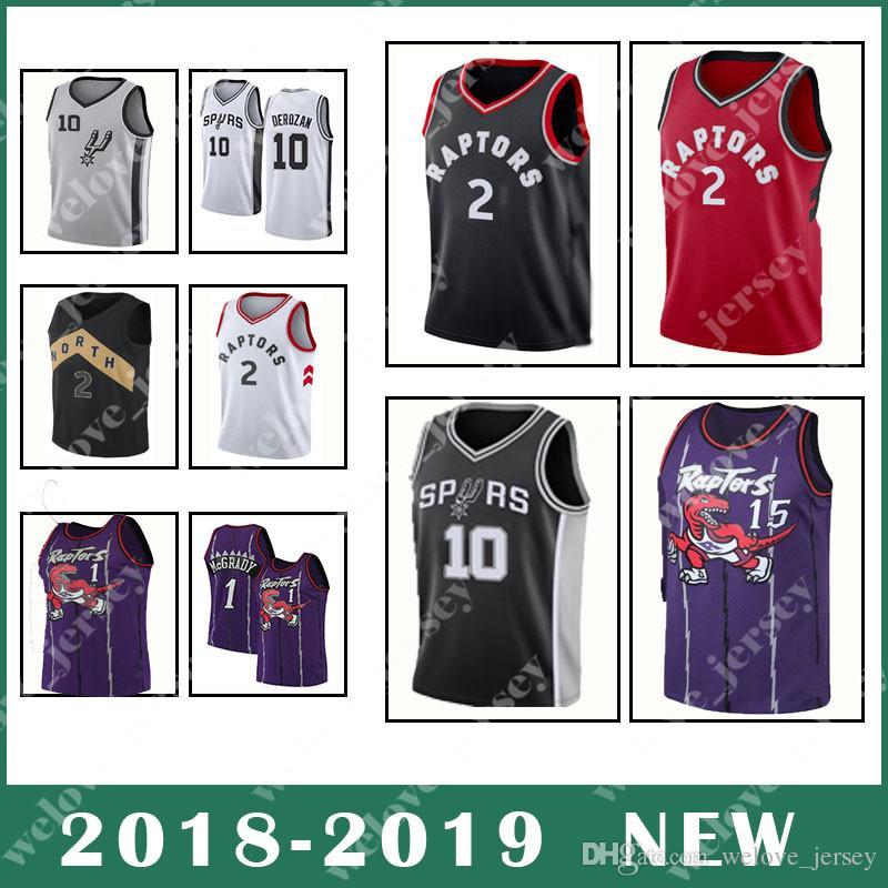 low priced f7586 ff0cf Kawhi 2 Leonard DeMar 10 DeRozan jersey Toronto popular Men's basketball  jerseys top quality red black jersey.