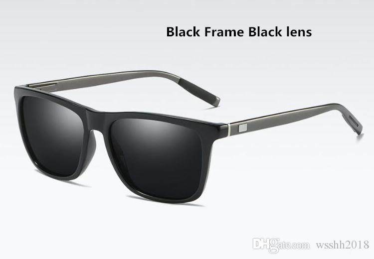 40a0e55a0b Compre Diseño 2019 Nuevos Hombres Y Mujeres Gafas De Sol Polarizadas Gafas  De Sol Brillantes Moda A387T Aluminio Magnesio Resorte Primavera Patas A  $10.66 ...