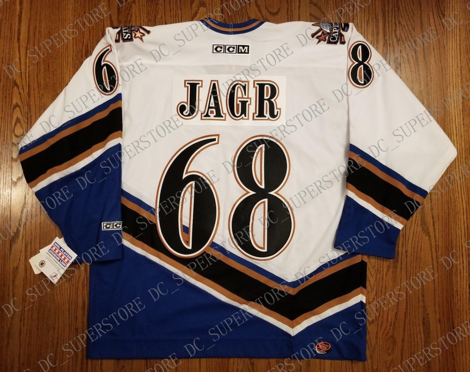 the best attitude 1bba1 e8400 Cheap custom Jaromir Jagr Vintage Washington Capitals CCM Jersey Screaming  Eagle Mens Personalized stitching jerseys