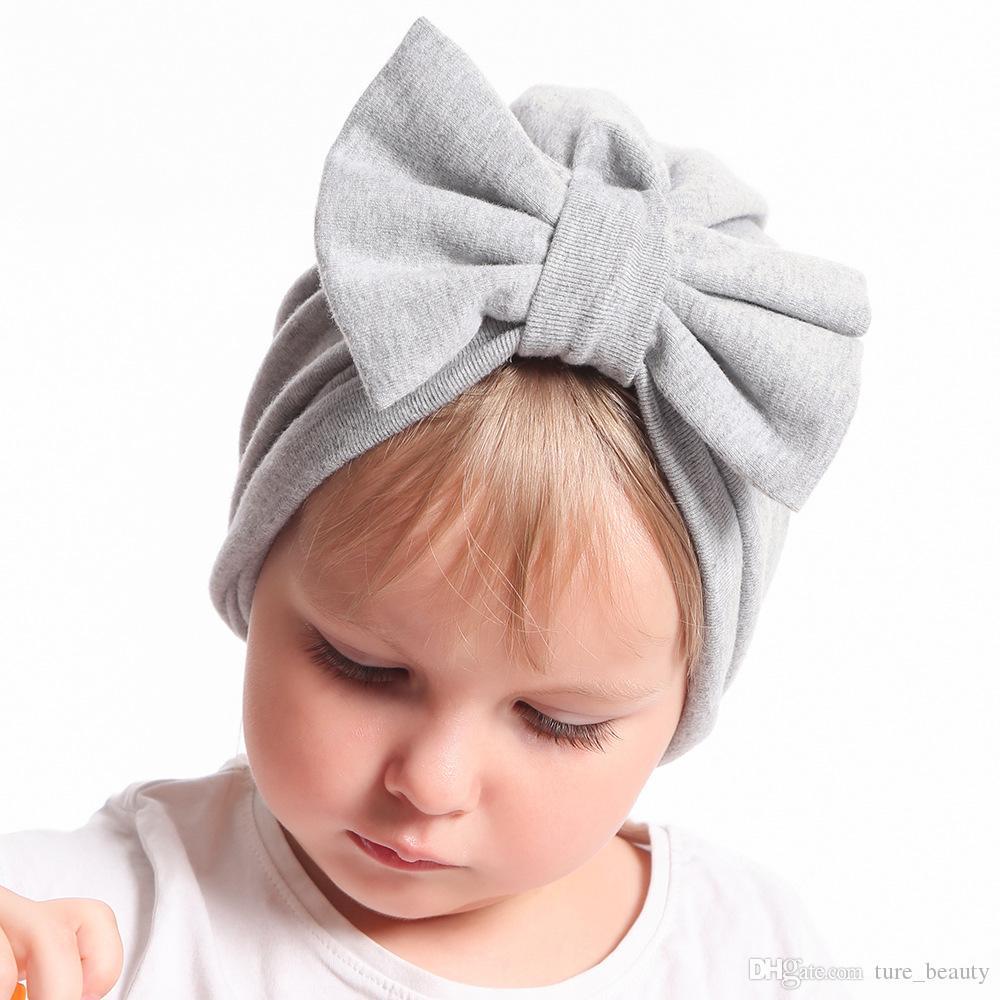 HOT Sale Babe Girls Messy Bow Headband c0da9e67ae2