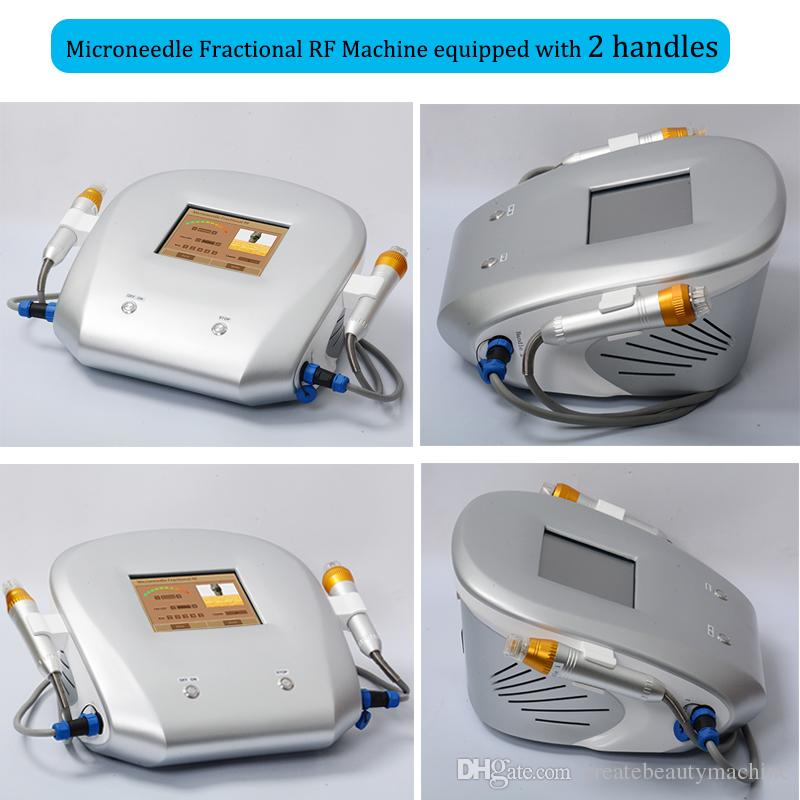 Newest fractional rf no needle mesotherapy machine fractional rf microneedle spot scars face rf fractional micro needle acne skin treatment