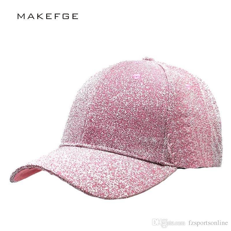 4ea63f9a591 2019 Casual Hats For Women Sequins Flashes 6 Panel Trucker Hip Hop Cap Girl   S Breathable Mesh Hat Summer Baseball Bone Feminino  220189 From  Fzsportsonline ...